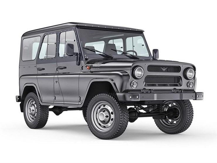 Силовые бампера УАЗ 469 / Хантер и их модификации