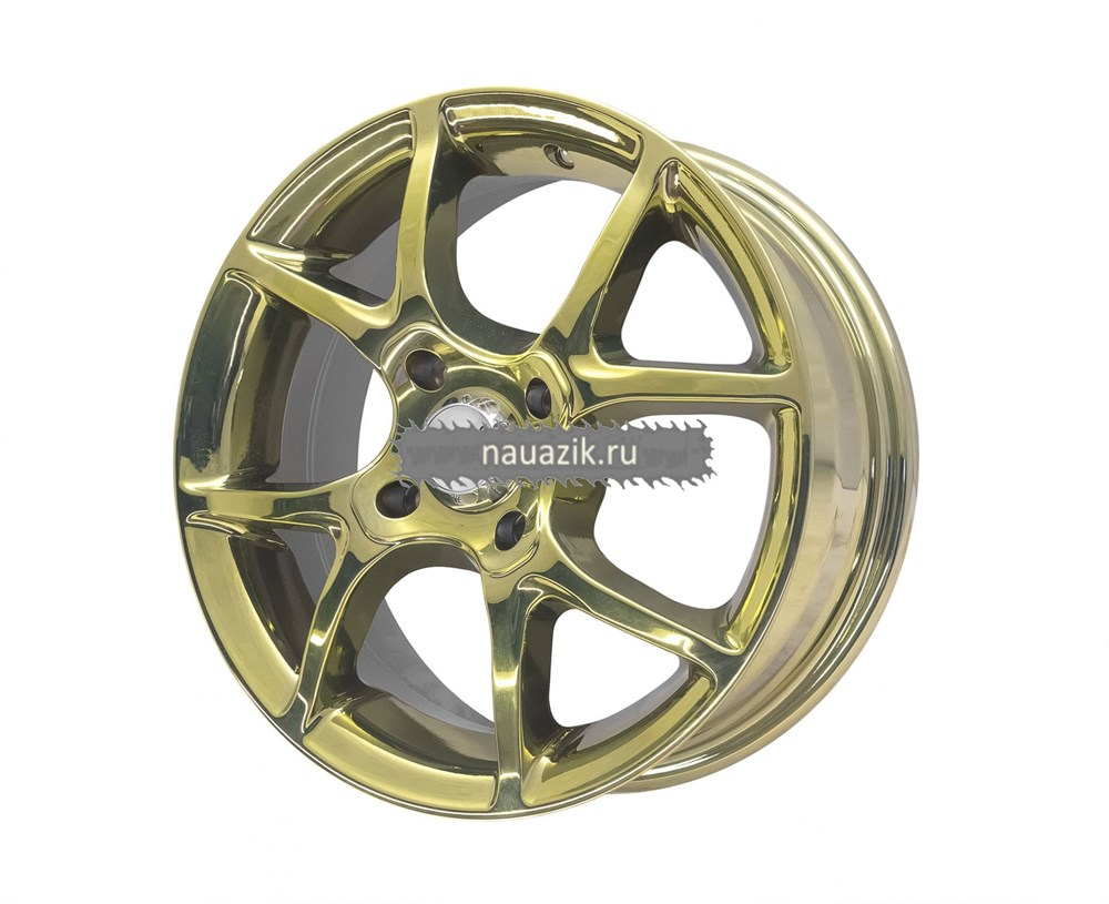 TG Racing 1141733 LZ416 (5,5х14 4х100 ET45 d60.1) GOLD SPT      Рено, Дэу