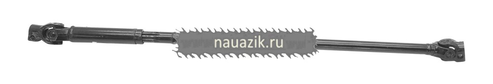Вал рулевого управления карданный (шлиц крупный/клин диам. 20) (АДС) с ГУР Борисов УАЗ 3160