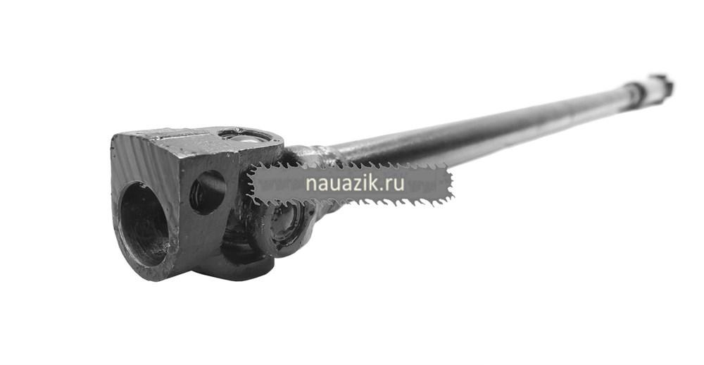 Вал рулевого управления карданный (шлиц крупный/клин диам. 23) длин (АДС) с ГУР Стерлитамак