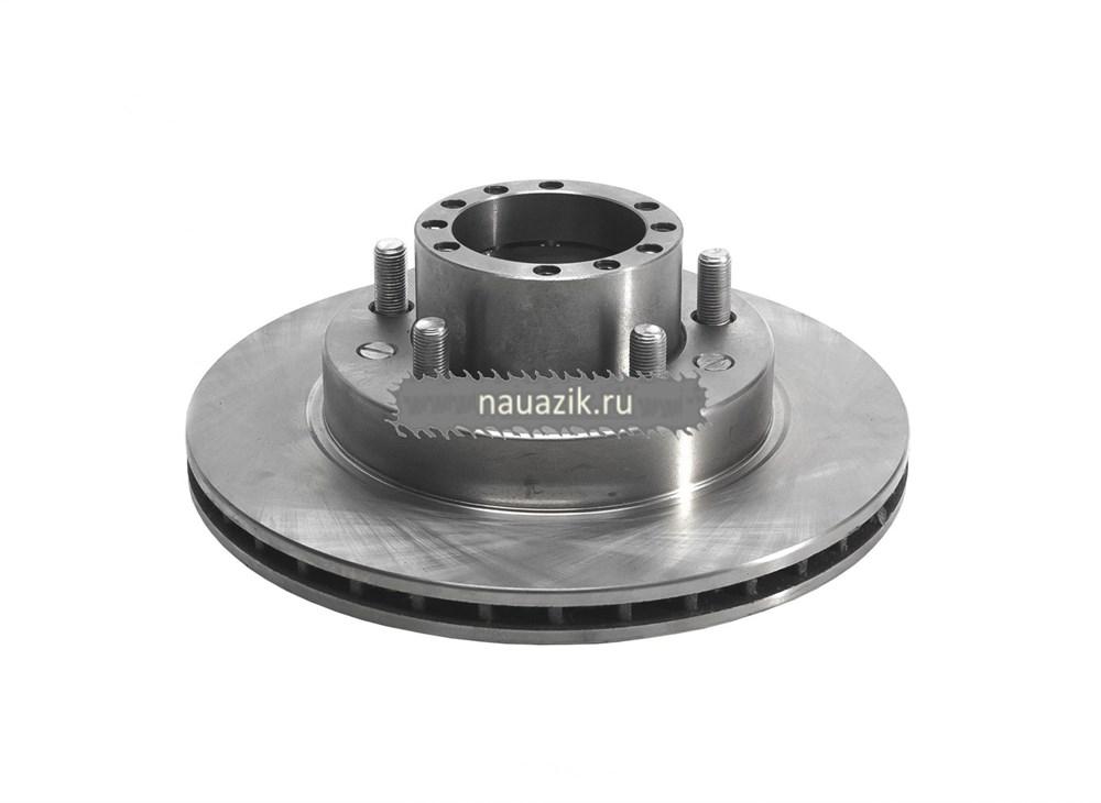 Ступица переднего колеса с торм.диском в сб.++