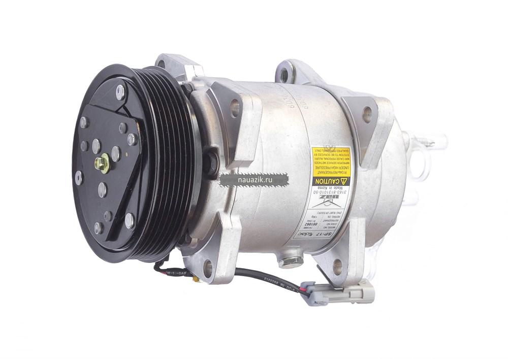 Компрессор на кондиционер УАЗ Патриот (6РК) двиг. 40905, Евро-5 (рейсталинг 2017г.)