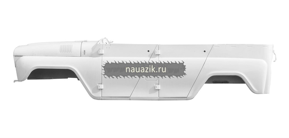 Каркас кузова (легковой под крышу) белый арктика