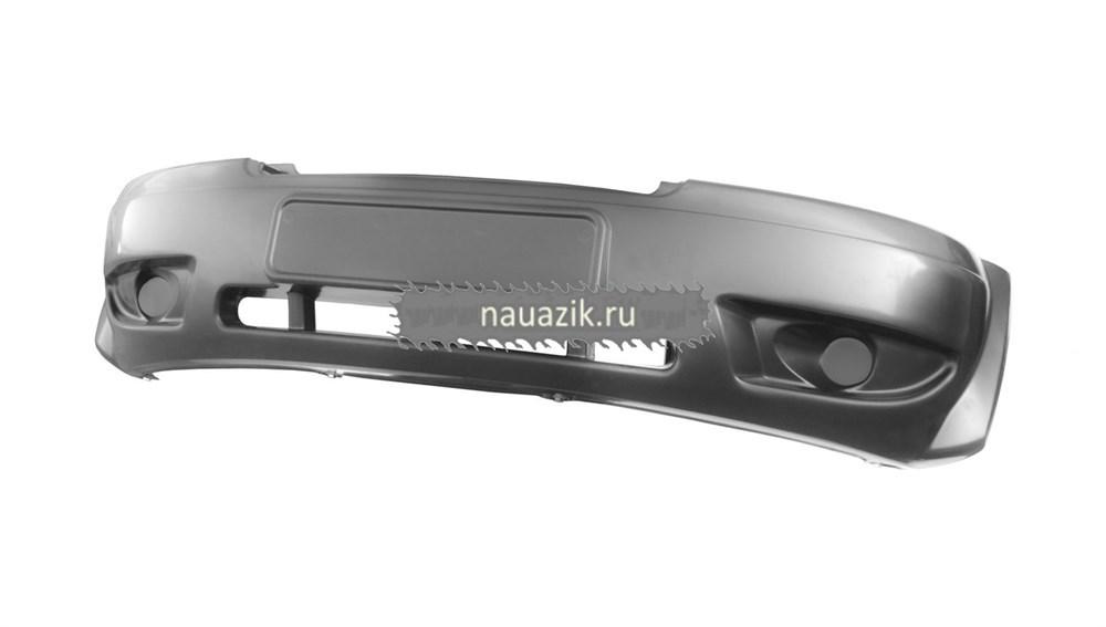 Бампер передний в ЦВЕТ УАЗ Патриот до 2014 года