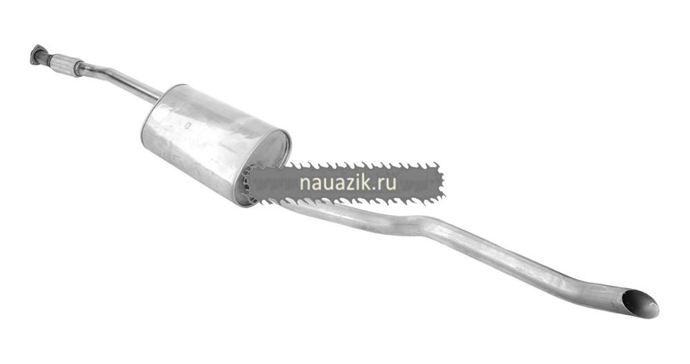 Глушитель с выпускн. трубой (УАЗ Патриот, дв. ЗМЗ-514) (нерж.)