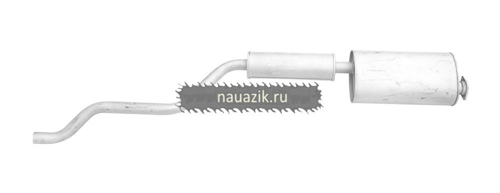 Глушитель с резонатором (УАЗ 2206 дв. 409) (Баксан) L-2100