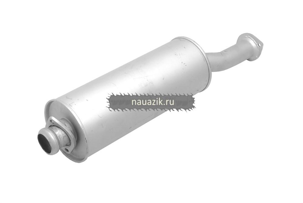 Глушитель УАЗ Хантер , резонатор 2 на 2 болта под катализатор  (Н.Новгород)