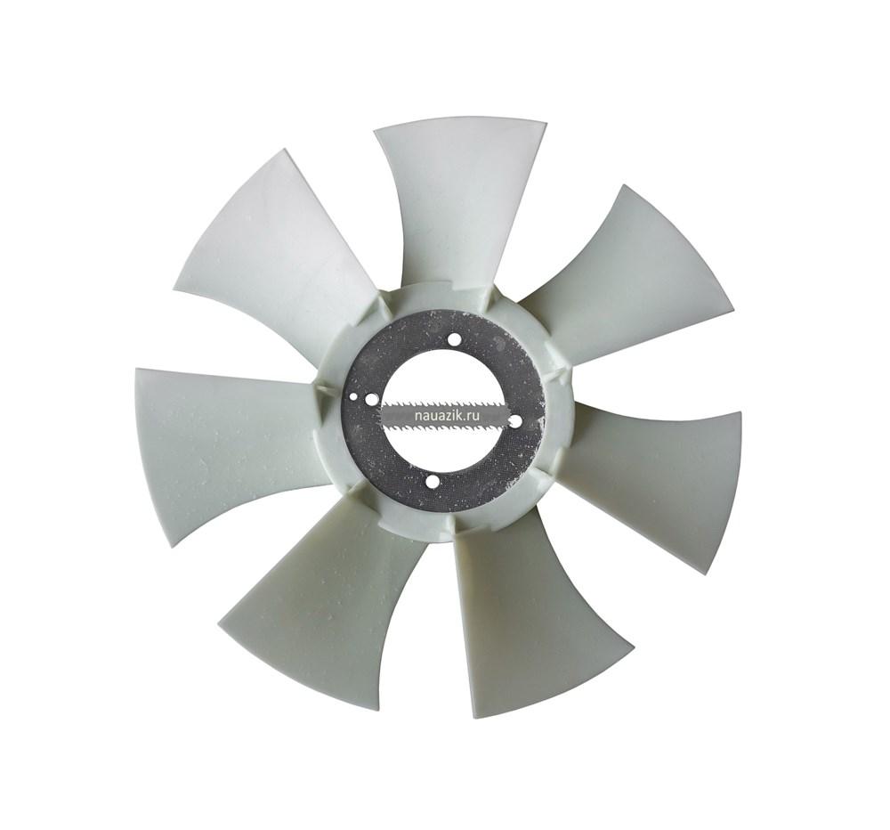 """Вентилятор (без гидромуфты) пластм. 7 лопастей (белый) """"MetalPart"""""""