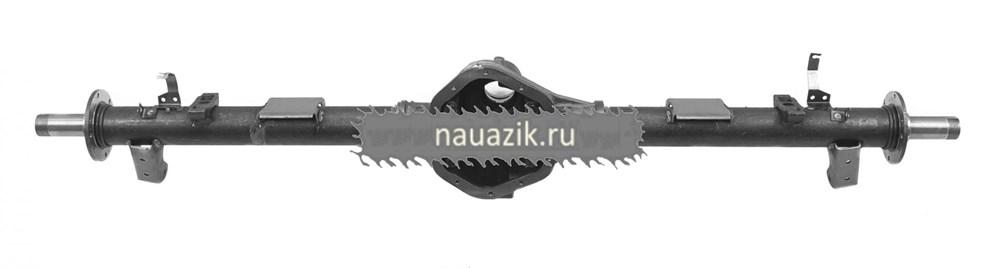 Картер заднего моста УАЗ-3163 с кожухами с АБС