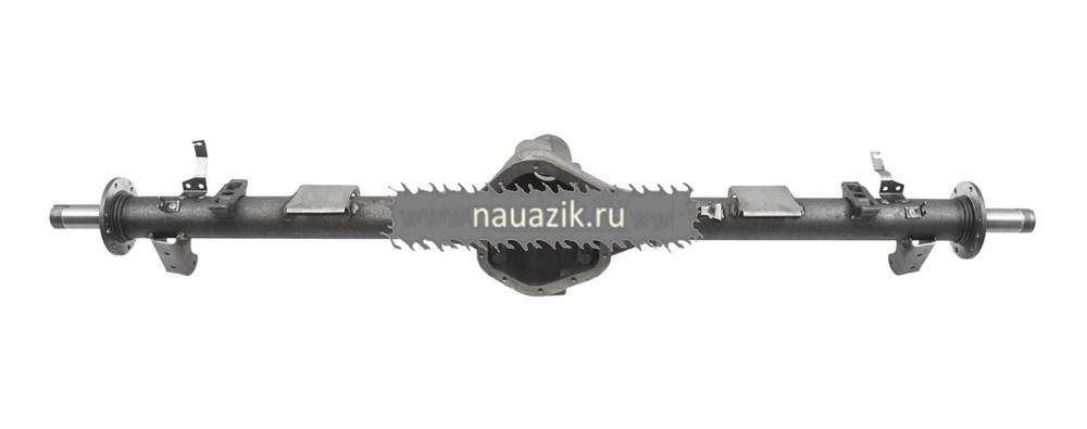 Картер заднего моста УАЗ-3163 с кожухами с АБС (под новые тормоза)