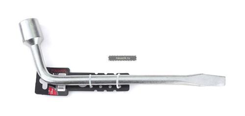 Ключ баллонный 22 мм.,кованый,с длинной ручкой