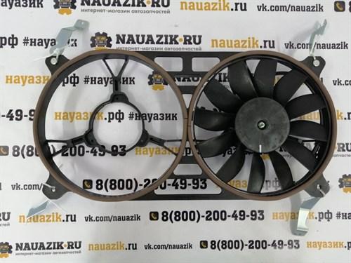 Электровентилятор радиатора Патриот (одинарный) с кожухом (с кондиционером) - фото 18423