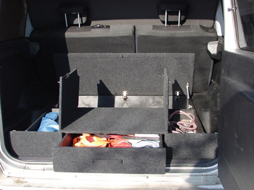 Ящик органайзер багажника УАЗ Патриот комплектация Классик (с 2015 по наст. время)