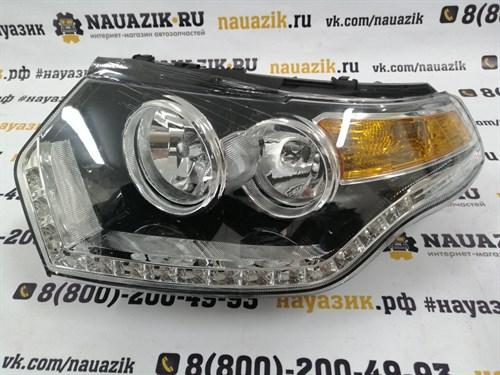 Фара УАЗ Патриот 3163 в сборе левая (с 2015 г.в)