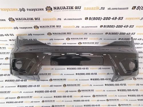 Бампер передний УАЗ Патриот с 2015 г. С отверстиями под парктроники. Все цвета в ассортименте. - фото 19314