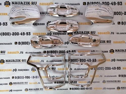 Комплект хромированных накладок УАЗ Патриот с 2015г.в. (рестайлинг) - фото 19396
