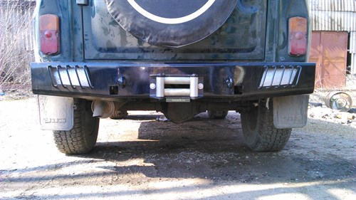 "Бампер задний ""Чероки"" УАЗ 469 / Хантер - фото 24333"