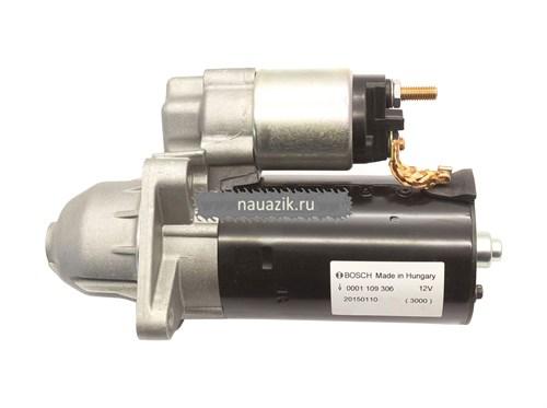Стартер УАЗ Bosch IVECO 0 001 109 306 (2,5 кВт) Bosch - фото 6786