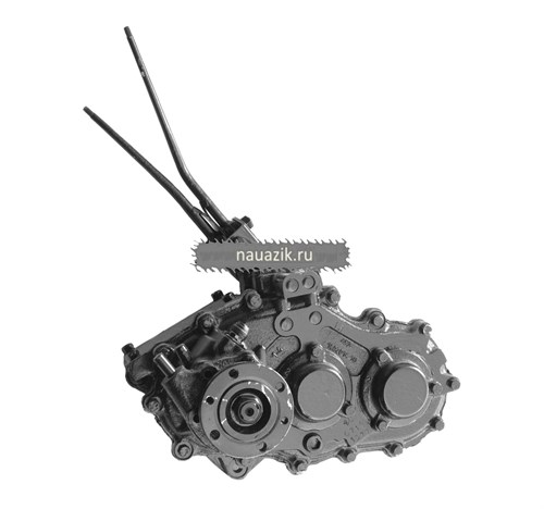 "Коробка раздаточная УАЗ 469 н/о (косозубая) ""40"" (4,625) - фото 6848"