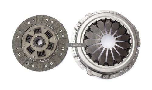 Комплект сцепления (Тюмень d-240мм) 5-ступ. КПП с дв.ЗМЗ-409, УМЗ-4213 - фото 7128
