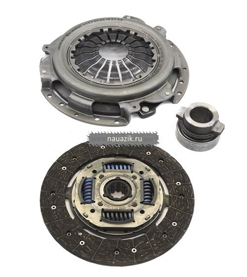 Комплект сцепления Krafttech ЗМЗ-405,409 усилен. (с муфтой 24,3110) - фото 7133