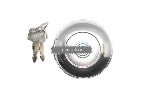 Пробка бака 452 с ключом (хром.) - фото 7545