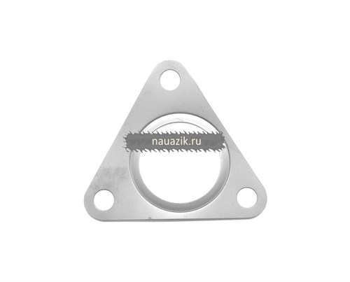 Прокладка между выпускным коллектором и турбокомпрессором ЗМЗ-51432.10 Евро-4 - фото 7563