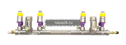 Топливопровод УМЗ-4216 ЕВРО-3 Гль , УАЗ рампа с форсунками ПЕКАР - фото 7669
