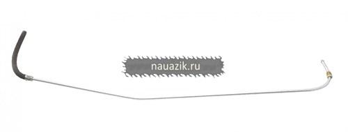 Трубка топливн. слива топлива к струйному насосу Патриот ЕВРО-2 / - фото 7736