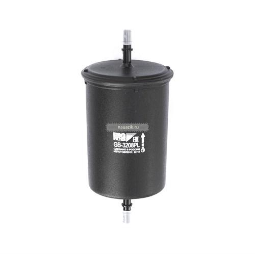 Фильтр топливный тонкой очистки Хантер, 3741 под защ. инж. (пластм. корпус)(BIG FILTER) - фото 7836