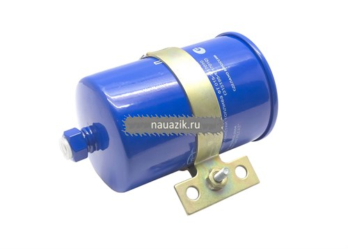 Фильтр топливный тонкой очистки Хантер, 3741 под штуцер инжектор с хомутом++ - фото 7841