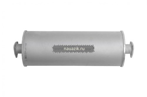 Глушитель УАЗ Патриот, 3160,3162,31604 дизель (Баксан) 2 фланца