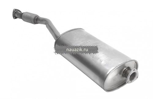 Глушитель УАЗ Пикап ЕВРО-3 (Баксан) с гофрой