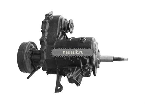 Агрегат в сб. УАЗ 452 4-х синх.КПП (тонкий вал)++