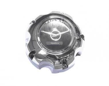 Колпак колеса на литой диск Сахара глухой (хромиров. пластик)