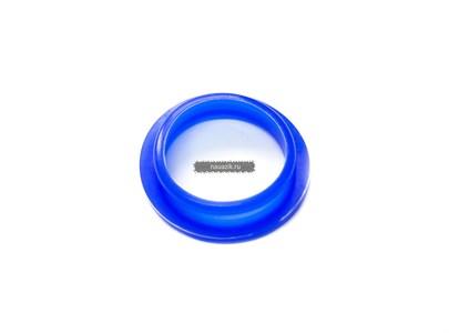 Уплотнитель крышки клапанов (свечного колодца) ЗМЗ-406  н/о синий силикон
