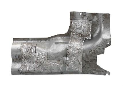 Брызговик двигателя (инжектор) (3741-95-2802063) УАЗ