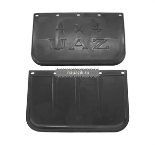 Брызговик резиновый передний УАЗ 452, 31514 полиуретан (комплект)