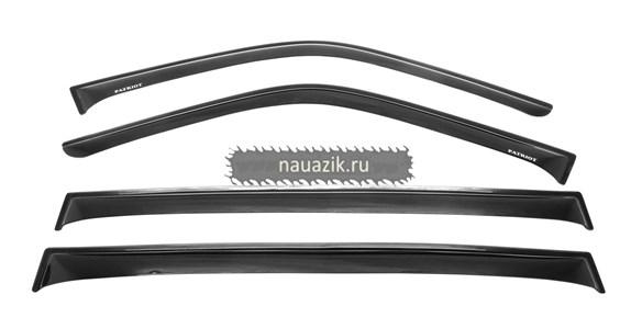 Дефлектор окон УАЗ 3162, 3163, Патриот (комплект 4 шт.)