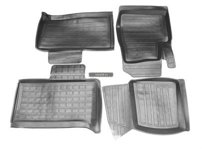 Коврики салона УАЗ-3163 (с 2015 г.в.) резиновые