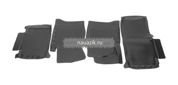 Коврики салона УАЗ-3163, 2363 Пикап (до 2014 г.в.) полиуретан