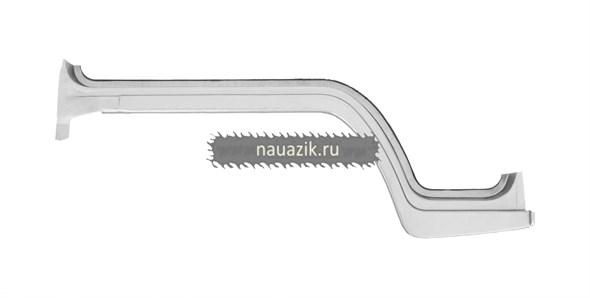 Порог пола (серп) кабины УАЗ 452 правый (не грунтованный)