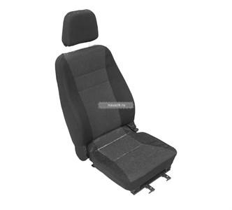 Сиденье водительское мягкое Майор (3-х точечное крепл) на салазках УАЗ 452 Буханка
