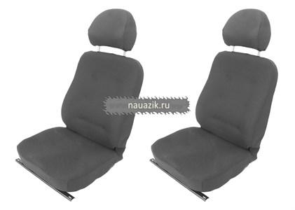 Сиденья передние мягкие УАЗ 452 Буханка на салазках (комплект)