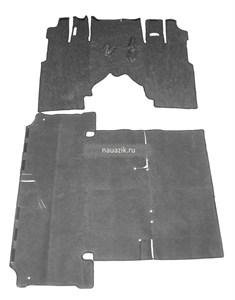 Утеплитель пола Хантер с дверьми (ковролин)