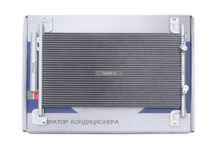 Конденсатор (радиатор)кондиционера с рессивером (бензин/дизель) Пекар