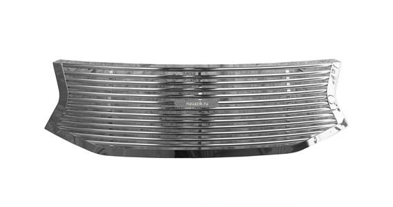 Решетка радиатора УАЗ Патриот хром (с 2015 г.в)