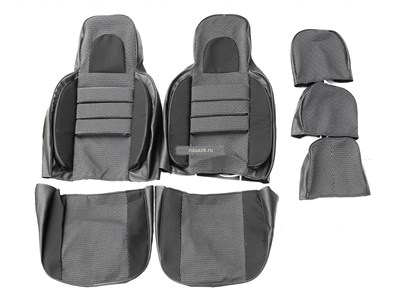 Чехлы сидений УАЗ 31514 Люкс (объемные, автомоб.ткань)