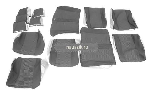 Чехлы сидений УАЗ Патриот (автомоб.ткань) (сиденья с/о 2005-06г.г.)