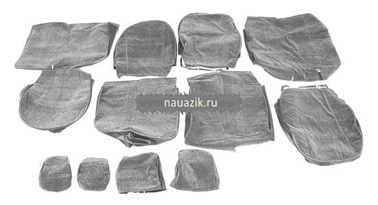 Чехлы сидений УАЗ Патриот с 2015 г.в  (автомоб.ткань) (без подлокотника)